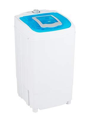 KUPPET MINI Tragbare Waschmaschine mit Trockner 220V / 50HZ, 39.5 * 39 * 71.5CM(Blau)