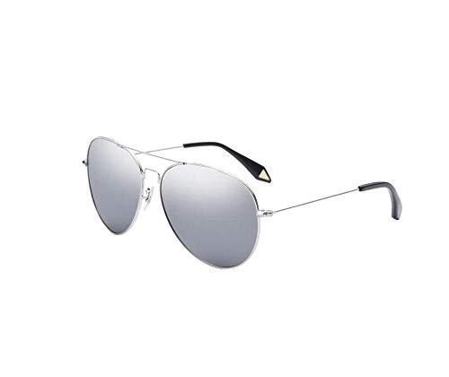 Nwn Sonnenbrille männlich polarisierten weiblichen Fahrer Fahrer nachtsicht Frosch Spiegel uv-Schutz Memory Frame (Color : Frame Mercury)