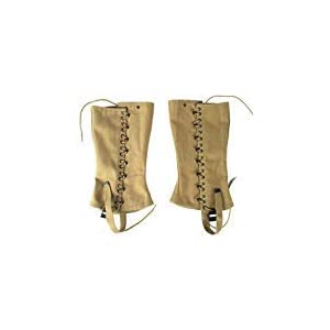 216dW84px7L. SS300  - OLEADER Replica WW2 U.S. M1936 Dismounted Leggings, Boot Gaiters, Soldier Canvas Puttee