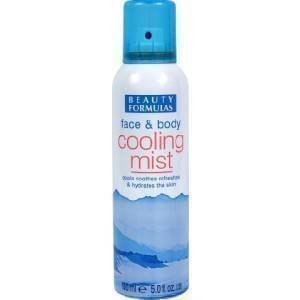 Beauty Formulas Body and Face Cooling Mist On Hot Days 150ml by Beauty Formulas