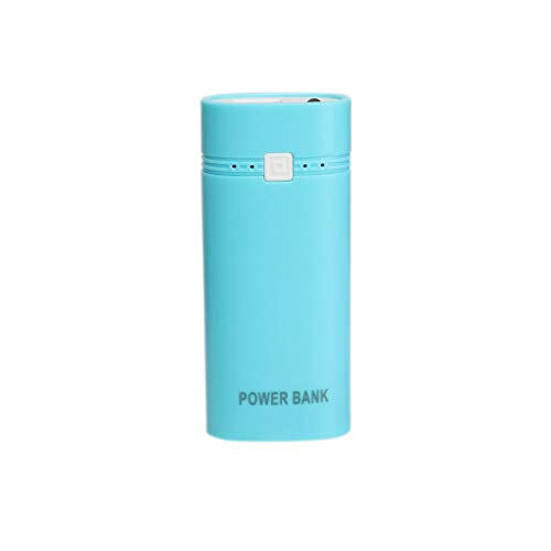 Provide The Best 2 Abschnitte LED-Taschenlampe tragbare Ladegerät 18650 mit 2000mAh zu 6000mAh Kapazität Energien-Bank