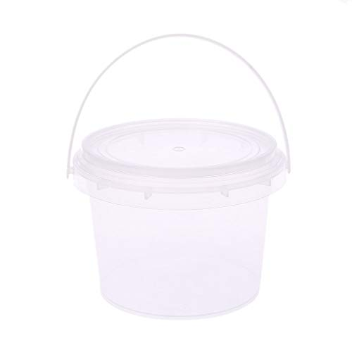 Manyo Slime conteneurs Cubo Cajas Almacenamiento plástico