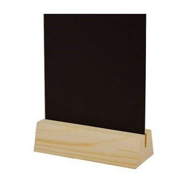 Tableau noir avec support en bois