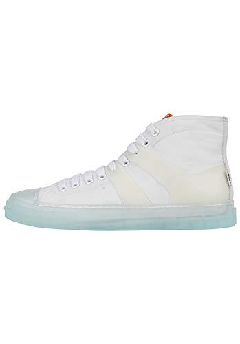 Djinns Clear High Canvas White 40