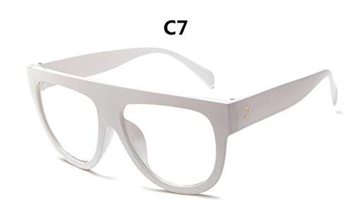 Cranky Orange 2019 Luxusmarke Designer Sonnenbrillen Frauen Vintage Sonnenbrille Big Full Frame Brillen Frauen Brillen Gafas Oculos de Sol, C7