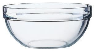 Arcoroc Lot de 6 bols à Sauces, confitures, chutneys, Sauces, crèmes pour les condiments ect... bols bols en verre Transparent