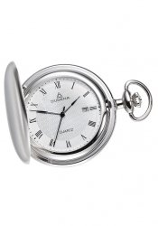Dugena - 4288041 - Taschenuhr - weiß/silber