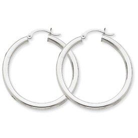 10k-oro-bianco-tre-millimetri-rotonda-orecchini-a-cerchio-daukgems-10k-white-gold-3mm-round-hoop-ear