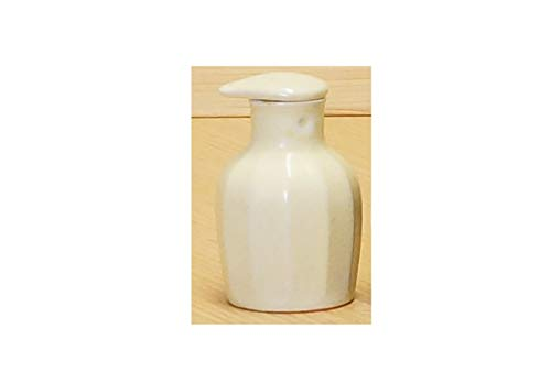 Imari Japanese Arita-yaki Soy Sauce Bottle (Chamfering) Mat White from Japan 02112031 Imari-sauce