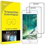 JETech Film de Protection d'écran pour iPhone 8 et iPhone 7 en Verre Trempé, Lot de 2