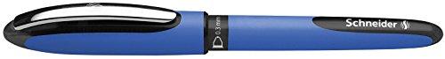 Schneider–Penna roller One Hybrid C 03, Hybrid–Punta conica, 0,3mm, Nero, 1 pezzo