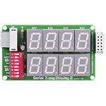 Serial 7-seg 2a display