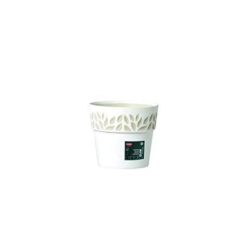 Cache-pot Cloe 15 x H13 Blanc Cachepot Floral