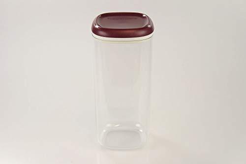 TUPPERWARE Clear Collection1,8 L Crystal bordeaux transparent Vorratsdose Dose - Tupperware Crystal