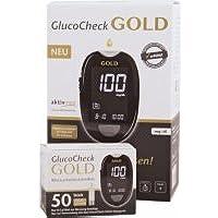 Preisvergleich für Glucocheck Gold Blutzuckermessgerät mmol/dl mit 60 Teststreifen - für Diabetiker zu Messung des Glukosespiegels