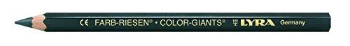 LYRA Farb-Riesen Kartonetui mit 12 Farbstiften, schwarz