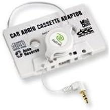 Adaptateur autoradio cassette prise jack 3,5-mm- Câble rétractable - Transfert musique vers autoradio