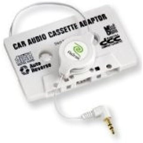 Hostey DLV2402 CPA-9 - Adattatore universale da auto per audiocassette, con spina jack da 3,5 mm