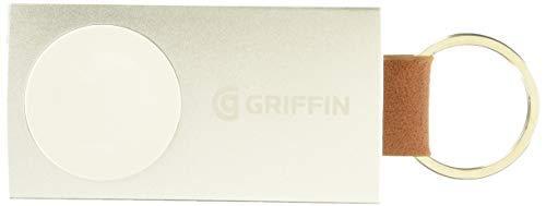 Griffin Batteria di Scorta Portatile per Apple Watch, 38 mm/42 mm, Alluminio