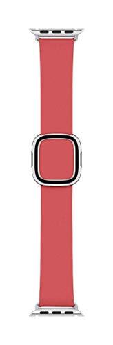 Apple Watch Correa rosa peonía con hebilla moderna (40mm) - TallaL