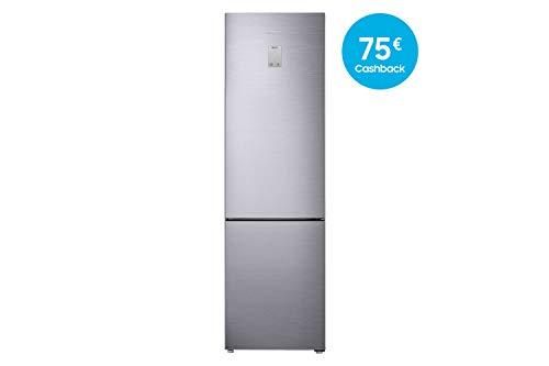 Samsung RL37J5449SS/EG Kühl-Gefrier-Kombination / A+++ / 201 cm Höhe /Premium Edelstahl Look/ 173 kWh/Jahr / 267 L Kühlteil / 98 L Gefrierteil / Twin und Metal Cooling / Freshzone - Design, Essecke
