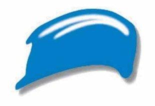 Preisvergleich Produktbild KREUL Acrylfarbe SOLO Goya Acrylic, primärblau, 100 ml 84112