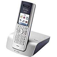 T-Com Sinus 301i Schnurloses ISDN-Telefon mit beleuchtetem Farbdisplay
