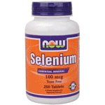 Selenium, 100mcg - 250 tablets by NOW Foods mm by NOW Foods