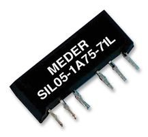 STANDEXMEDER Relay, Reed, SIL, 12VDC SIL12-1A72-71L -