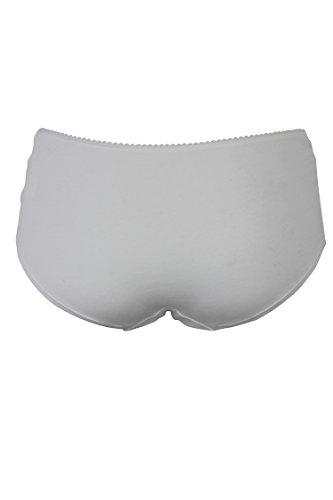 Ex Famous UK Brand Damen Taillenslip 3 x pack White