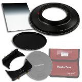 WonderPana 66 FreeArc Essentials ND 0.9HE Kit - Rotating 145mm Filter System Holder, Lens Cap, Fotodiox Pro 6.6