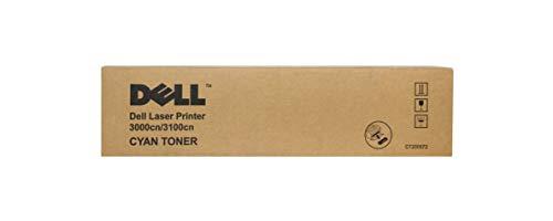 Dell T6412 Standard Capacity Toner für 3000CN/3100CN Laser Printer, 2000 Seiten, cyan