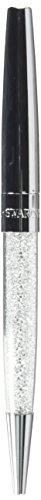 Swarovski Damen-Kugelschreiber Metall Swarovski Kristalle One Size Silber 32002994