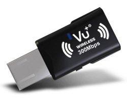 VU+ Wireless USB Adapter 300 Mbps incl. WPS Setup