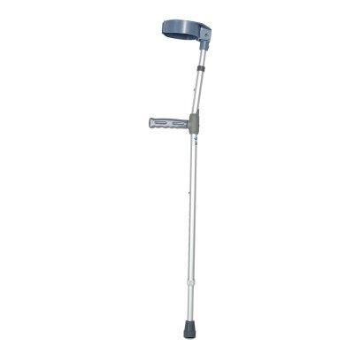 Wanson Teleskopische Aluminiumlegierung Unterarm Krücke U-Förmige Ellenbogen Kissen Knee Druck Krücken Lichtqualität Erwachsene Einzigen Fuß Erholung Krücken Achsel Stock Und Stock Grau 93-123Cm (Unterarm Krücke Kissen)