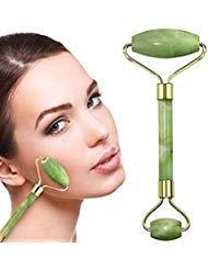 Rodillo de jade para la cara Jade Roller   rodillo de belleza para mejorar la apariencia de tu piel,  proporciona relajación,  masajea tu cara y mejora tu rutina de cuidado de la piel