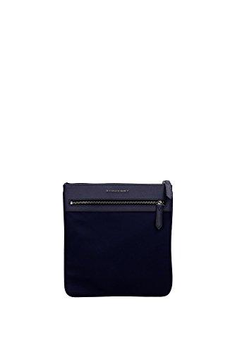 Borse a Tracolla Burberry Uomo Poliammide Blu Inchiosto 3983308INKBLUE Blu 26x27 cm