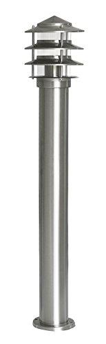 BORNE INOX 60W E27 - 80CM