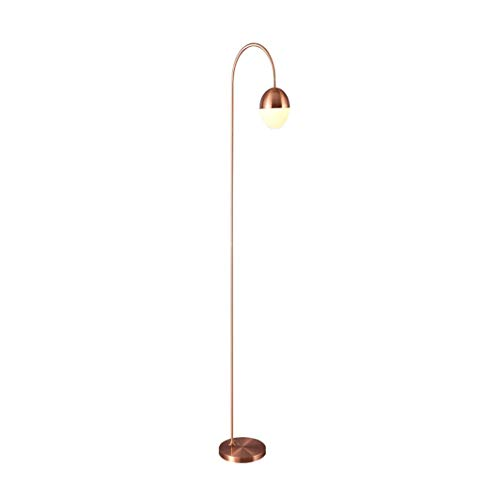 *Stehlampe Stehlampe, LED Schlafzimmer und Wohnzimmer Stehlampe, kreative einfache moderne Persönlichkeit Nachttischlampe Stehlampe gewölbt (Color : B)