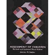Assessment of Children by Jerome M. Sattler (1992-07-02)