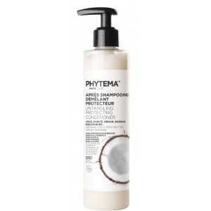 Après-Shampooing Démêlant Protecteur par PHYTEMA HAIRCARE   Bio – sans silicone – lissant   Cheveux lissés et gainés de la racine jusqu'aux pointes sans les alourdir   250 ml