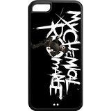 Case for iPhone 5c,Black/White Sides,Classic Style Customzie Unique Design iPhone 5cs Cases , High Qualiy TPU Material,Punk Band My Chemical Romance 5c Cover