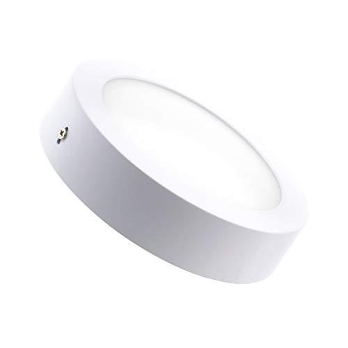 Plafón LED Circular 18W Blanco Neutro 4000K-4500K efectoLED
