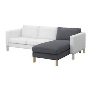 IKEA 'KARLSTAD' BEZUG für Recamiere in Korndal mittelgrau Artnr. 701.583.46