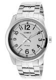 CASIO 19863 MTP-1315D-7B - Reloj Caballero cuarzo brazalete metálico dial blanco