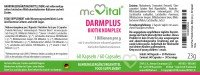 DarmPlus Biotik Komplex – Gesunde Darmflora – 1 Billionen pro g – 60 Kapseln