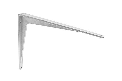 Gedotec Schwerlast-Konsole Aluminium Regalträger Winkel-Konsole - Sparta | 400 x 350 x 40 mm | Schwerlastträger Tragkraft 340 kg | Regalhalter Alu massiv | 1 Stück - Regalkonsole für die Wandmontage