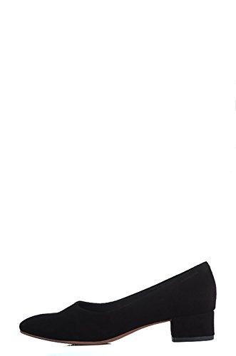 Vagabond Jamila Shoes Black-Chaussure Basse-Noire Cuir Scamoscata Noir - Noir
