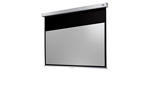 Celexon Rollo-Leinwand Professional Plus | Format 16:9 | Nutzfläche 240 x 135 cm | Beamer-Leinwand geeignet für jeglichen Projektortyp | Auch als Full-HD und 3D-Leinwand einsetzbar | einfache Installation & gute Planlage