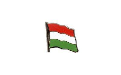 Flaggen-Pin/Anstecker Ungarn vergoldet